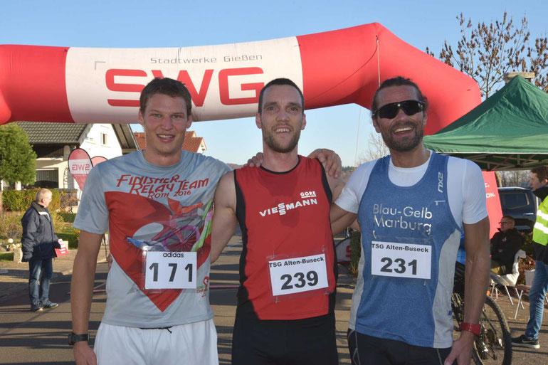 Matth. Brunnbauer, Micha Thomas und M.Schraub FOTO H.Schaake