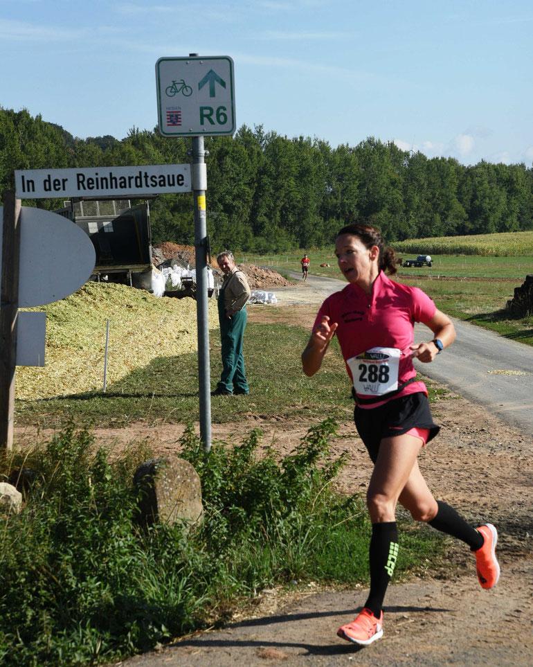 Halbmarathon Siegerin Dorothee Rogosch  FOTO.H.Schaake