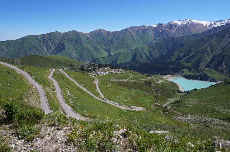 Didysis Almatos ežeras ir observatorija