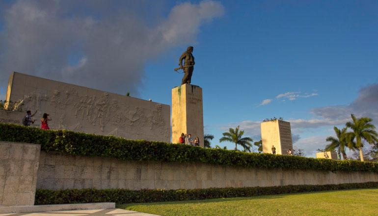 Ernesto Che Guevaros memorialas ir mauzoliejus Santa Klaroje / Foto: Kristina Stalnionytė