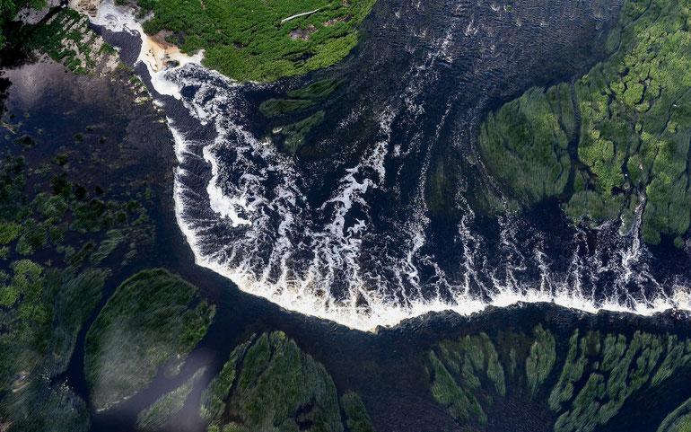 Ventos krioklys Kuldygoje - ilgiausias Europoje