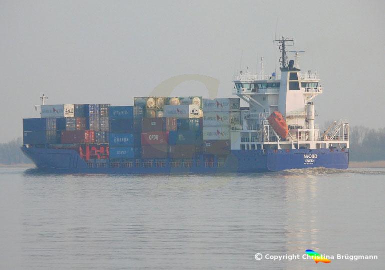 """Feeder Containerschiff """"NIJORD"""""""