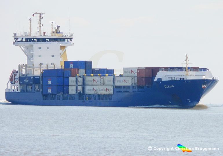 """Feeder Containerschiff """"ÖLAND"""""""