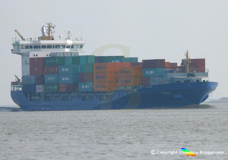 """Feeder Containerschiff """"MORSUM"""""""