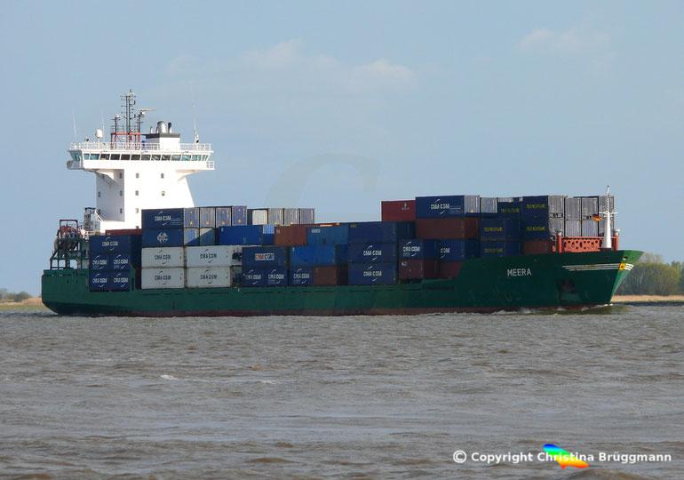 Feeder Containerschiff MEERA