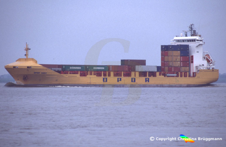 "Containerschiff ""OPDR CADIZ"""