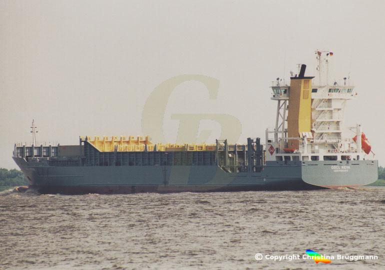 """Feeder Containerschiff """"OOCL NAVA"""""""