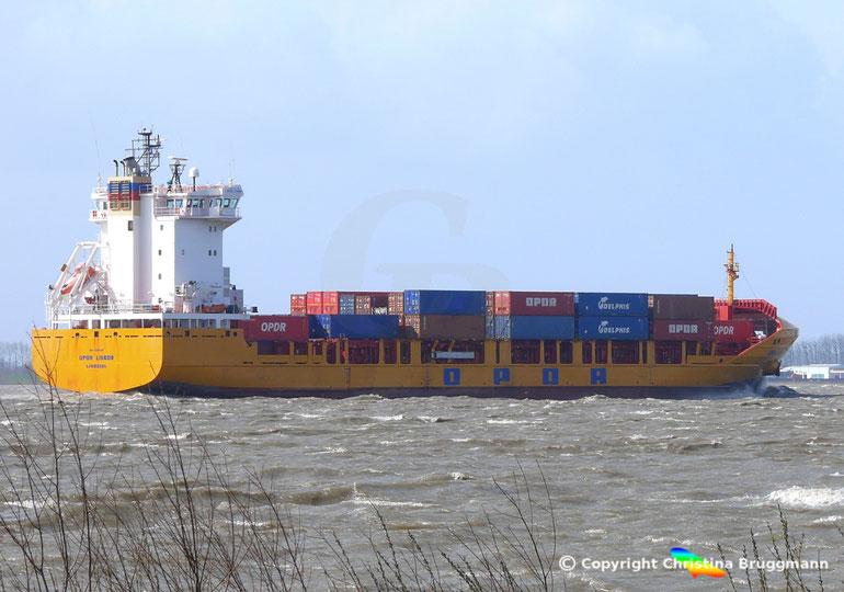"Containerschiff ""OPDR LISBOA"""