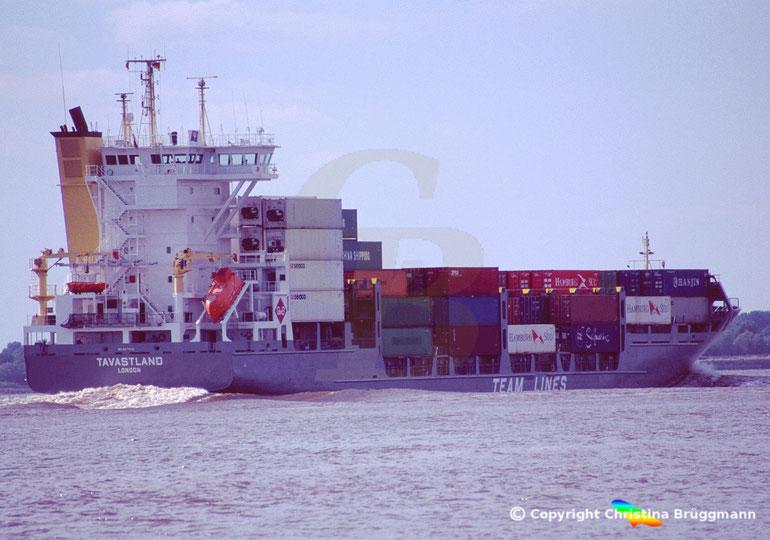"""Feeder Containerschiff """"TAVASTLAND"""""""
