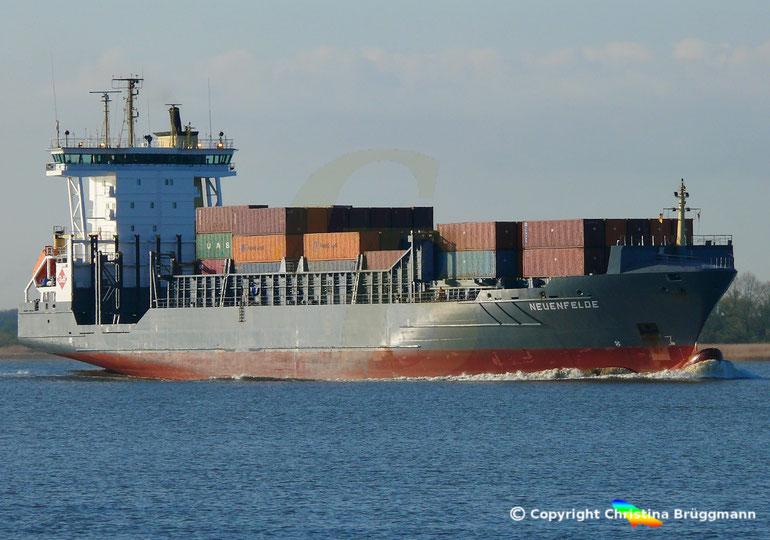 Feeder Containerschiff  NEUENFELDE