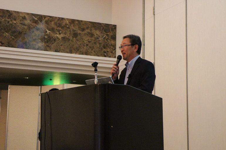 須藤さんの講演の様子
