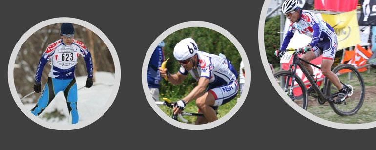 札幌国際スキーマラソンと自転車のツールドおきなわに挑戦中の写真