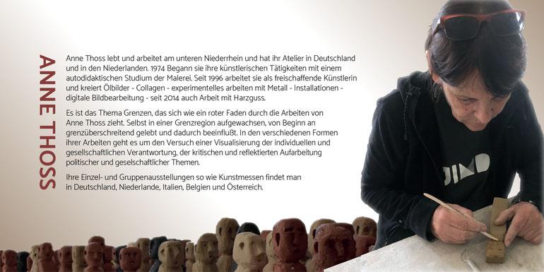 Künstlerkarte der Fa. Schaebens und Moras  Kunstpräsent 2019