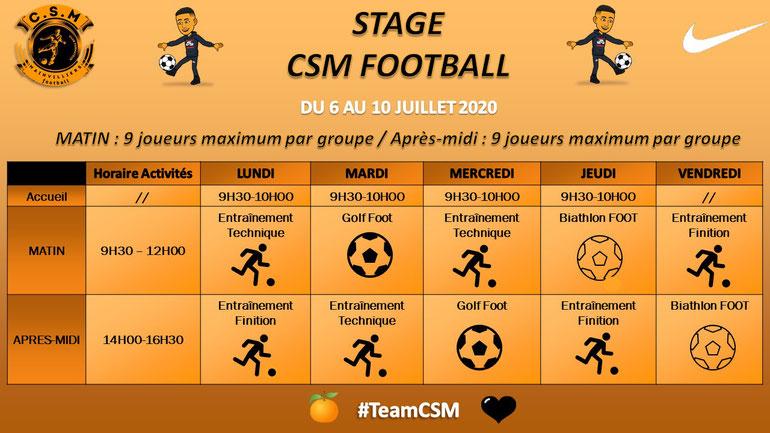CS Mainvilliers Football Stage Foot