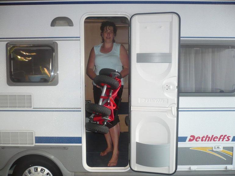 Camping mit ulfBo