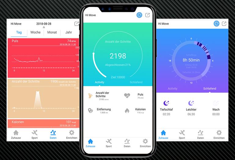 Wear Health Fitness App