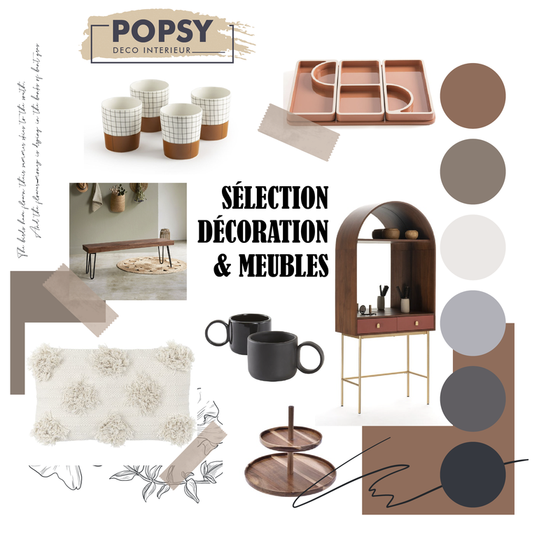 sélection décoration meuble ameublement art de la table bureau coussin soldes janvier 2021