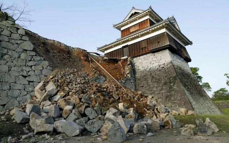 災害アプリ , 熊本地震
