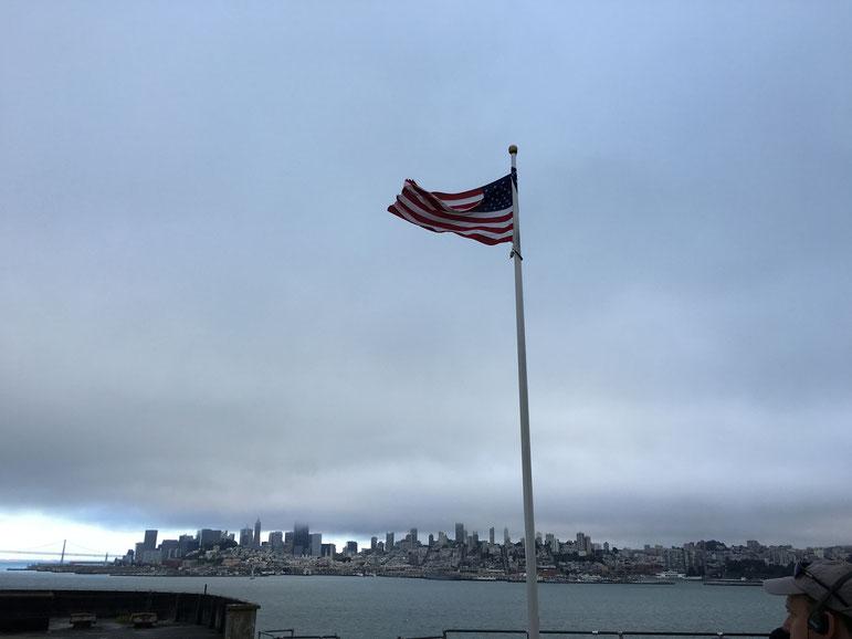 wunderschöner Blick auf die Skyline von San Francisco