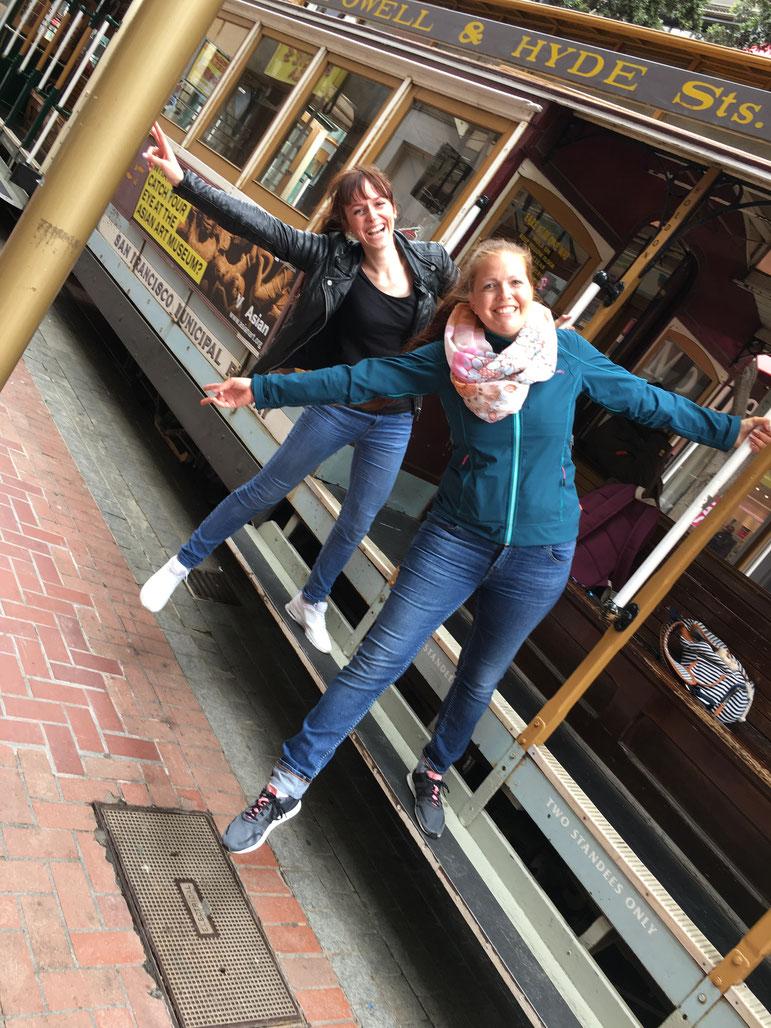 cable car fahren macht Spaß :)