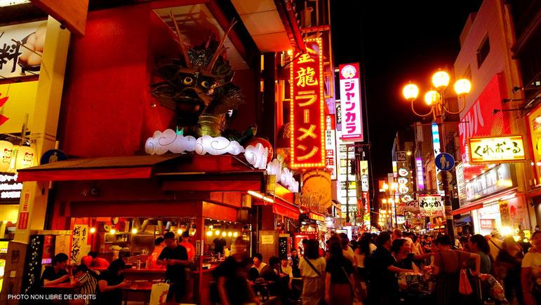 Dotonborie, Osaka, Japon