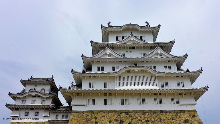 Shirasaji-jo, le château du Héron Blanc, Himeji, Japon