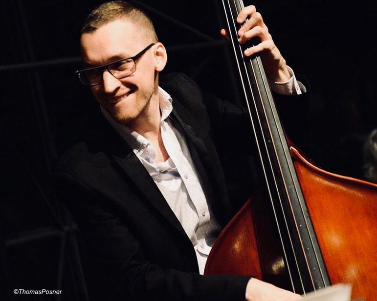 Thomas Posner, contrebassiste, jazz, volver events