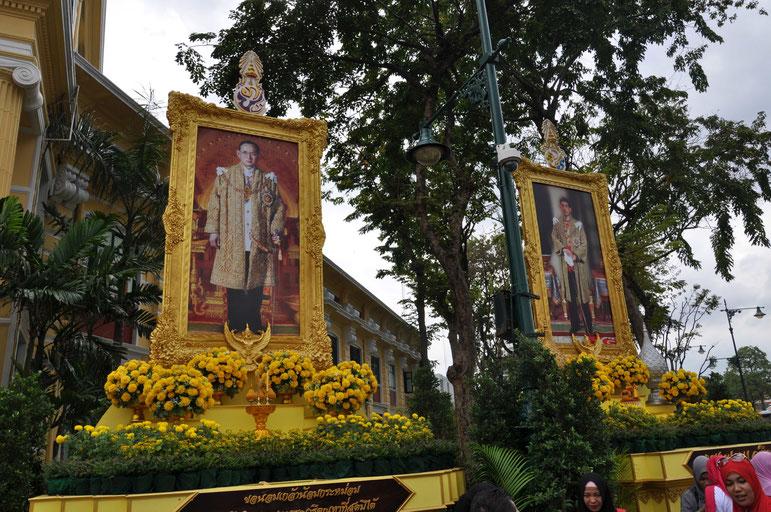 Bangkok König King von Thailand