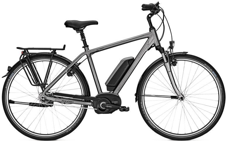 Raleigh Cardiff e-Bikes mit Bosch City e-bikes 2018