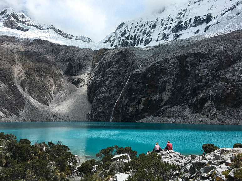 hikes in Huaraz