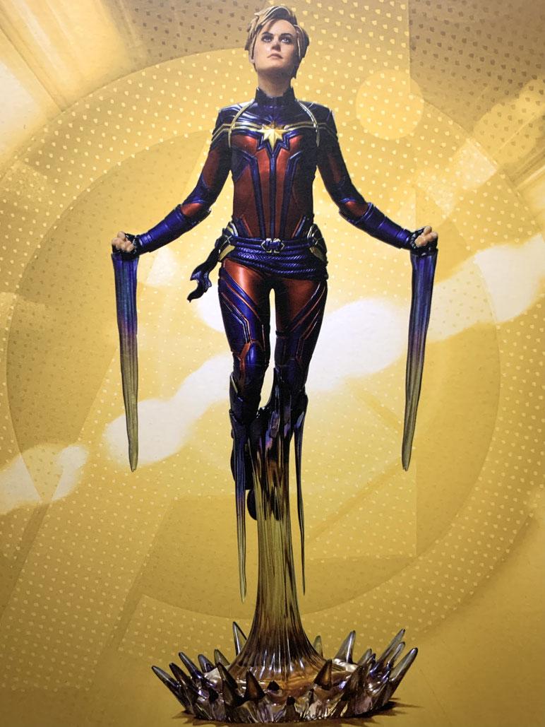 Captain Marvel 1/10 Marvel Avengers: Endgame BDS Art Scale Statue 26cm Iron Studios