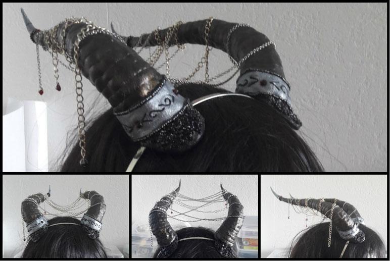 cornes dragon paraphernalia création