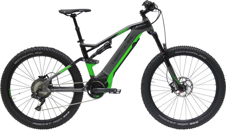 Hercules NOS eMTB mit Bosch und Brose 2018 e-Mountainbikes