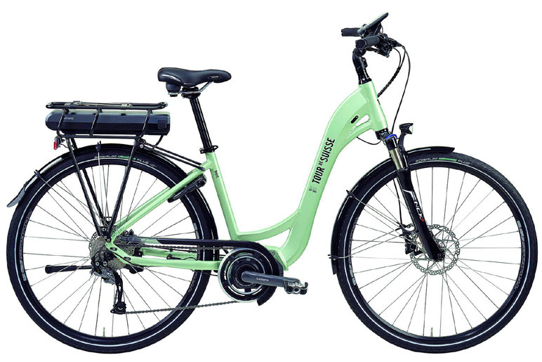 "Tour de Suisse Wave 28"" 25 km/h City e-Bikes 2018"