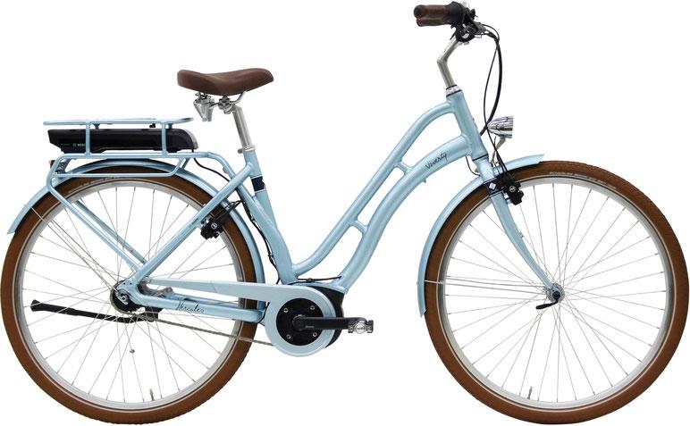 Hercules Pasero Pedelecs mit Bosch 2018 City/Trekking e-Bikes