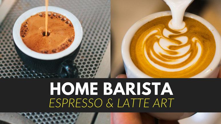Home Barista Espresso Kurs, für alle die Zuhause richtig guten Kaffee machen möchten