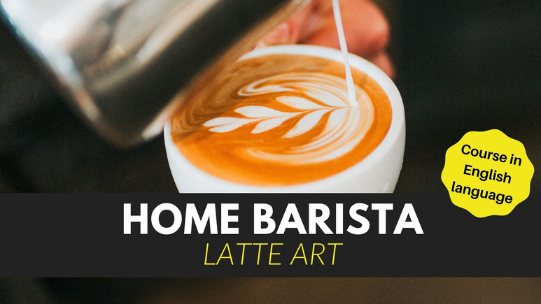 Latte Art Course. How to make perfect latte art at home with an espresso machine.