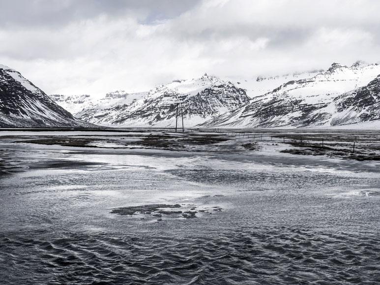 Landschaftsaufnahme als Farb-Photographie, Island/Iceland
