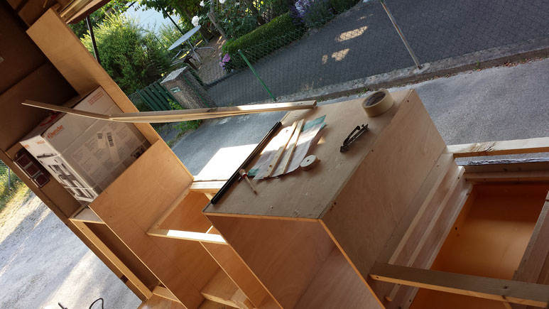 Bild Nr 8----Umbauarbeiten Arbeitsfläche vorne