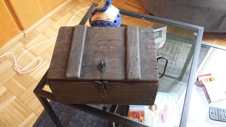 meine Kasse ist gefunden :-)