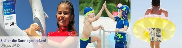 Bademode für Kinder im Wandl´s Gwandl mit UV Schutz