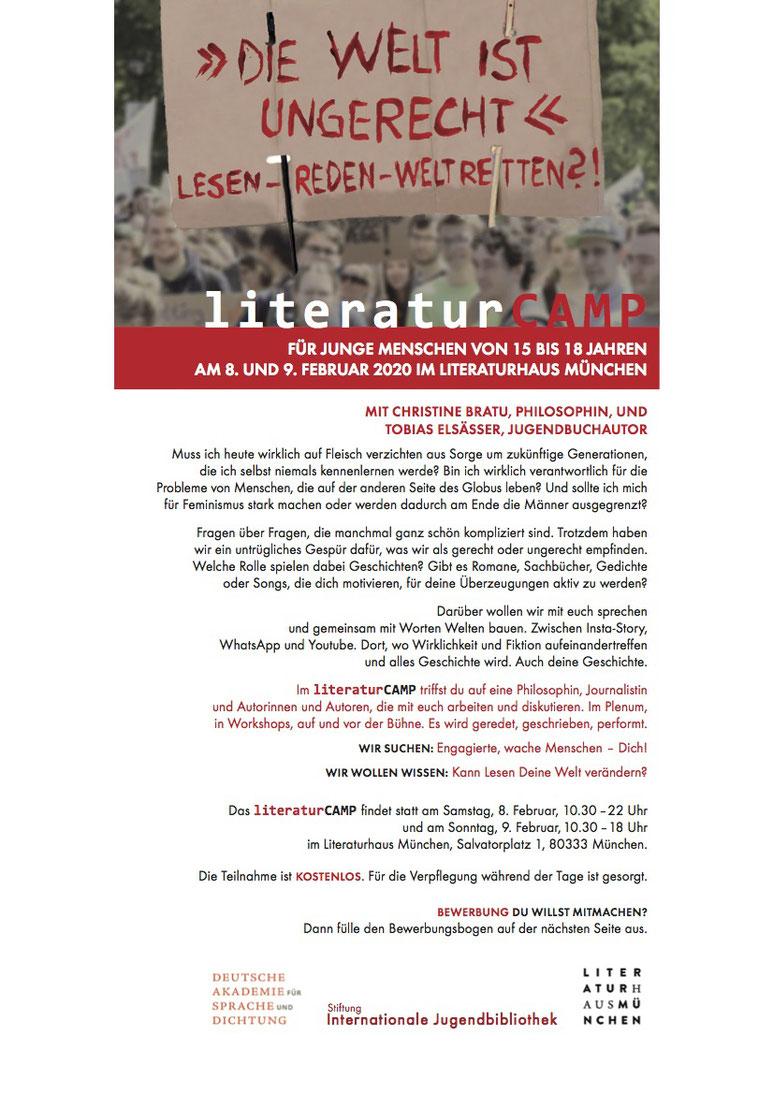 Das erste Literaturcamp in München war ein voller Erfolg. Details gibt es auf der Homepage literaturcamp.com