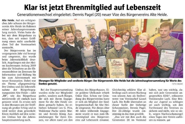 Hellweger Anzeiger vom 27.01.2020