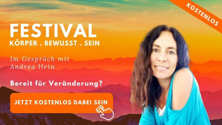 Festival für Körper Bewusst Sein
