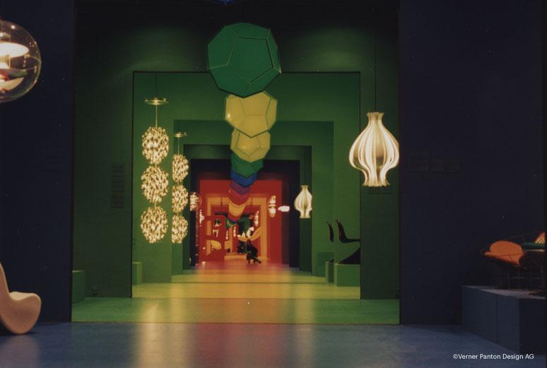 Die neue Panton-Ausstellung in Trapholt in Kolding zeigt Pantons Designwelt der bunten Farben. Foto: Verner Panton Design AG