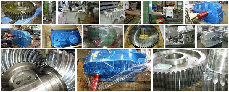 Reparación y fabricación de reductor AEG