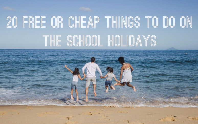 free activities, cheap things to do, 20 free or cheap things to do on the school holidays,