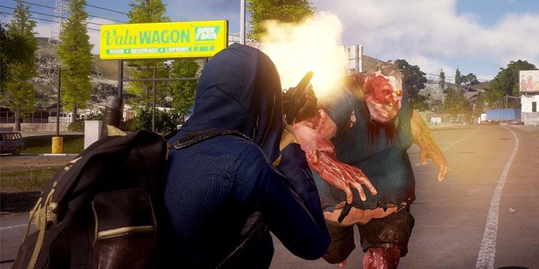 Die Zombie-Apokalypse State of Decay 2 erscheint am 22. Mai 2018 für PC und Xbox One. Wir zeigen euch neue Screenshots, bewegte Gameplay-Szenen aus dem Koop-Modus und verraten zudem, wie viel der Survival-Titel kosten wird. Bild: Microsoft