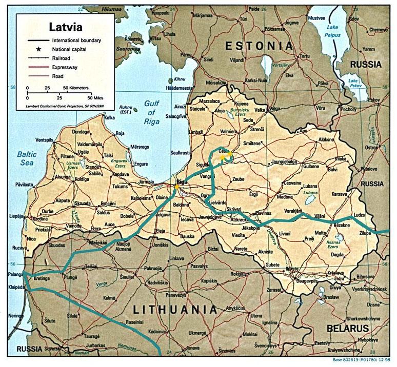 bigousteppes carte lettonie