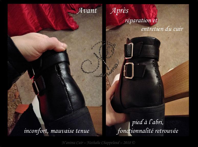 réparation & entretien d'une chaussure, 2018 ©